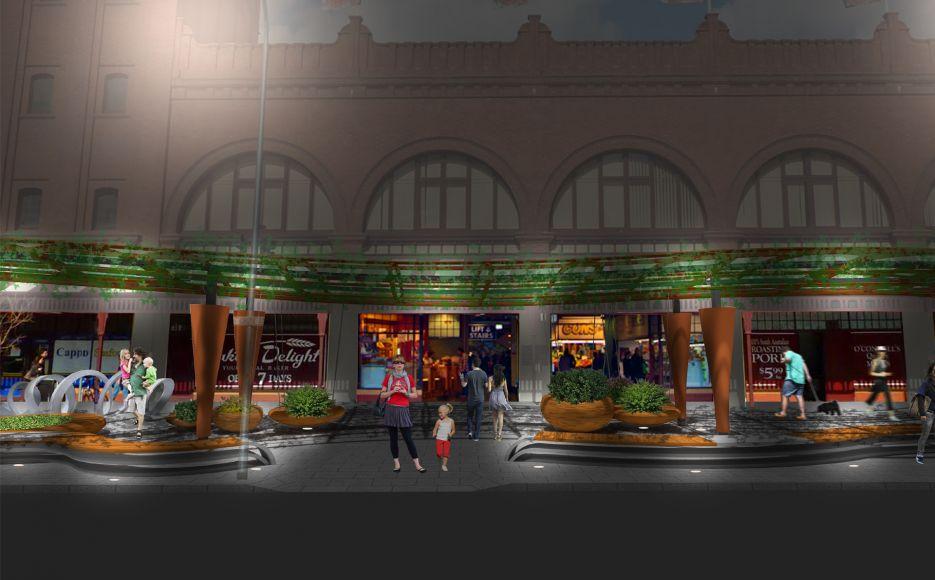 Adelaide Central Markets Urban Design