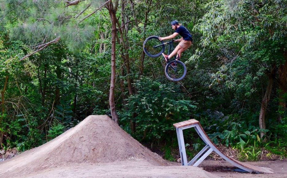 Castle Cove Bike ramp